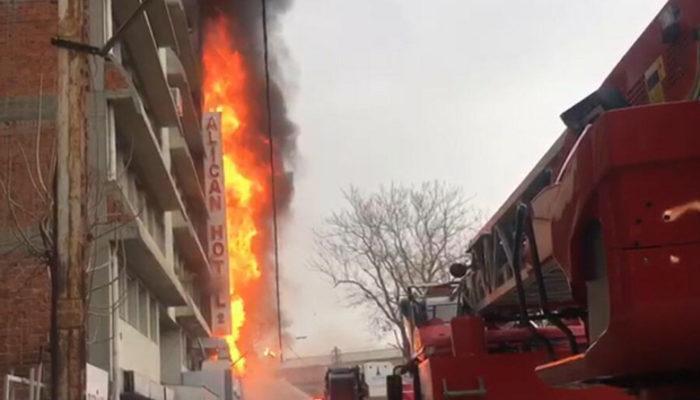 İzmir'deki otel yangınında çarpıcı detay!