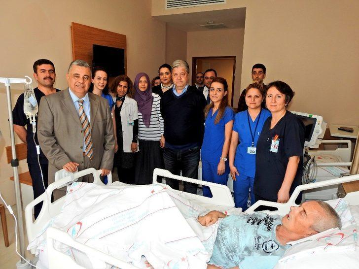 Çeşme'de ağır hastalara çağdaş hizmet