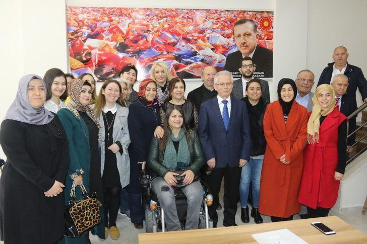 AK Parti'li Sayın: 'Kadına şiddet insanlığa ihanettir'