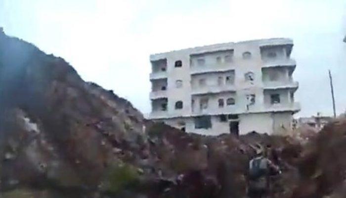 Afrin'de keskin nişancı terörist böyle vuruldu!