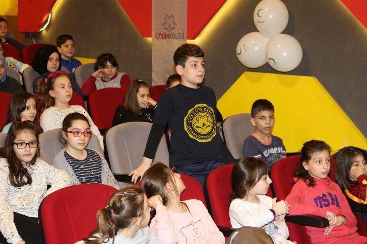 """Rize'de öğrencilere """"Teknoloji Bağımlılığı"""" eğitimi verildi"""