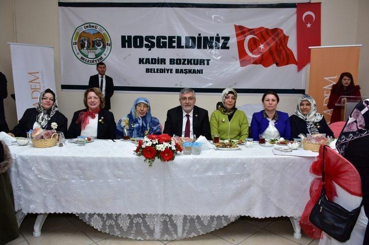 İnönü Belediye Başkanlığı'ın 8 Mart Dünya Kadınlar Günü programı