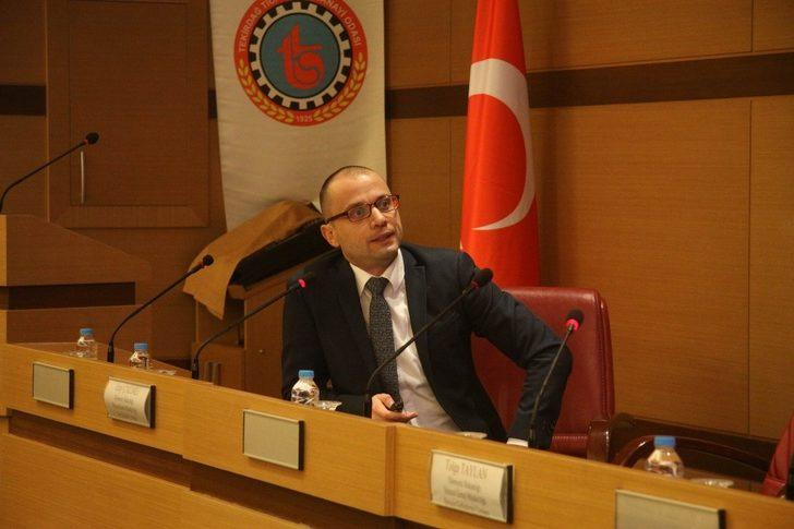 Tekirdağ TSO'da Dış Ticaret Bilgilendirme Semineri gerçekleştirdi