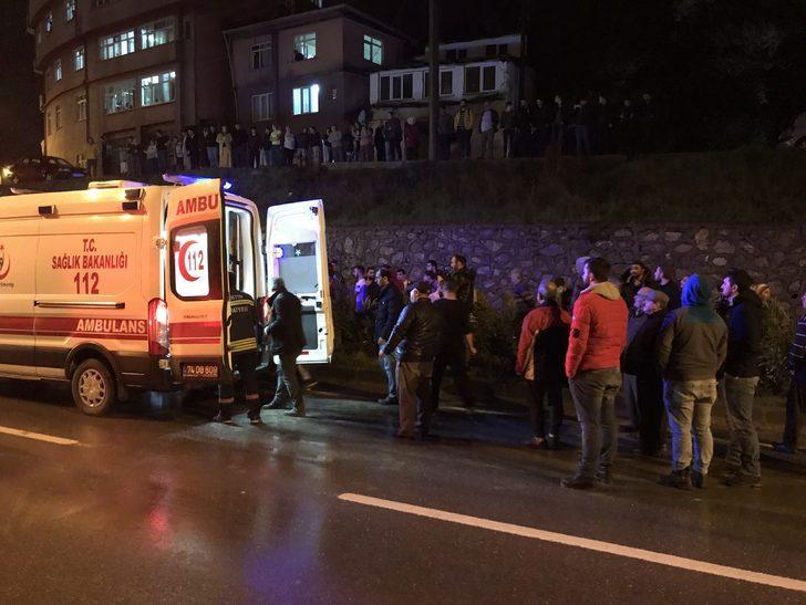 Otomobil bariyerleri aşıp alt yola düştü: 1 ölü, 2 yaralı