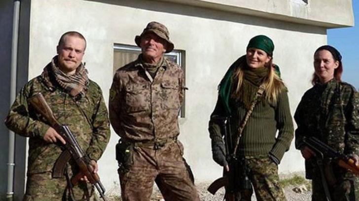 Gizli odadan çıktı! İşte YPG'deki yabancı teröristler