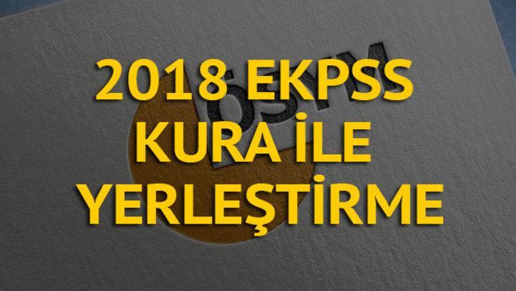 EKPSS tercih kılavuzu 2018 yayımlandı! EKPSS tercihleri nasıl yapılacak? (ÖSYM AİS)