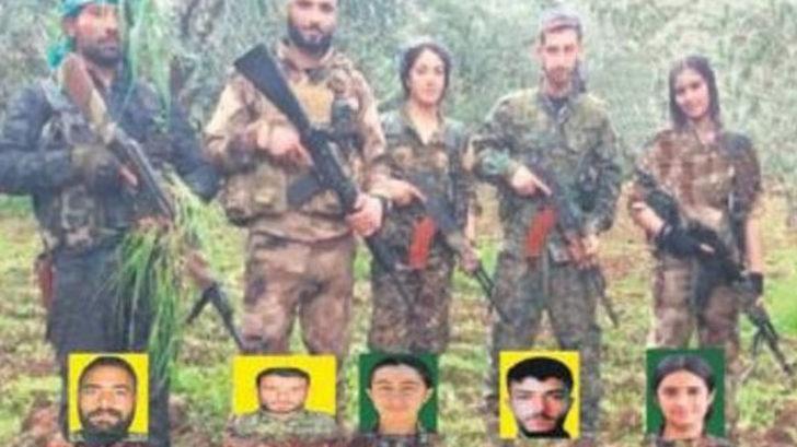 Bu fotoğraftaki teröristlerin hepsi öldürüldü!