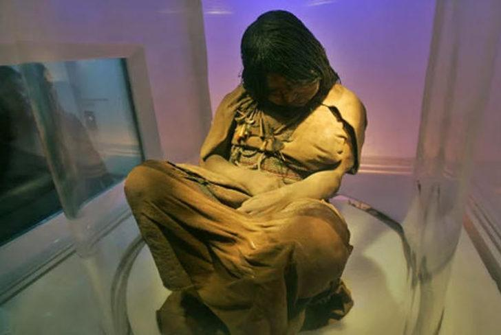 La Doncella (Ölüm 1450-1480 arası): GÜNEY AMERİKA