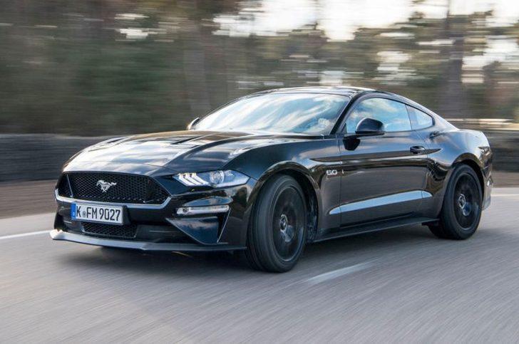 Ford Mustang GT 5.0 V8 yollara düştü