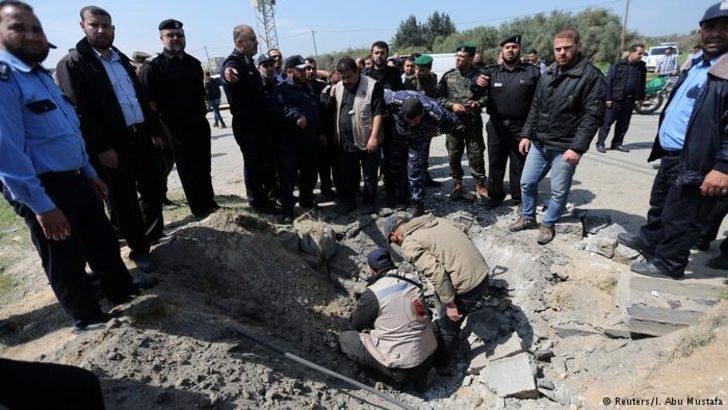 Filistin Başbakanı'nın konvoyuna bombalı saldırı