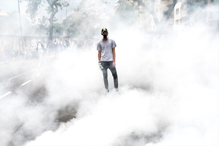 En febrero hubo 594 protestas en Venezuela por cuenta de la crisis