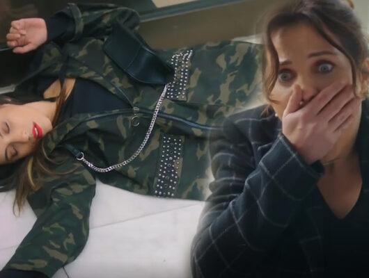 Ufak Tefek Cinayetler 21. bölüm ilk sahne! Merdivenden düşen Burcu ölüyor mu?