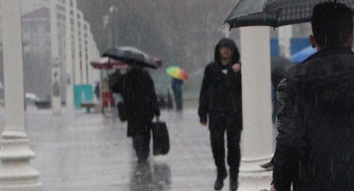 Meteoroloji'den sağanak yağış uyarısı! Resmen geri döndü