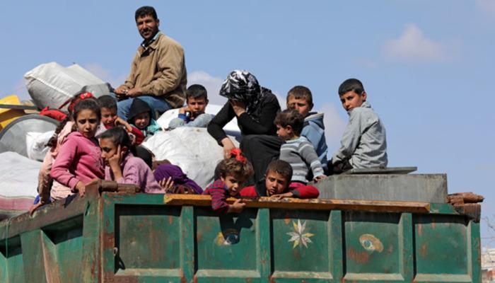 Afrin'den büyük kaçış