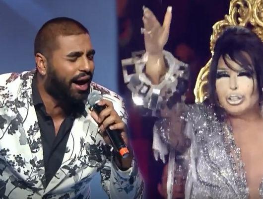 Popstar 2018'de Salih Zülüfoğlu, Devlerin Aşkı şarkısıyla Bülent Ersoy'u kendinden geçirdi!