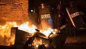 Madrid'de göçmen satıcının ölümü şiddetli protestolara yol açtı