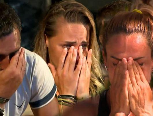 Survivor'da gözyaşları sel oldu! Survivor 2018'de ailelerden gelen mesajlar için yarıştılar