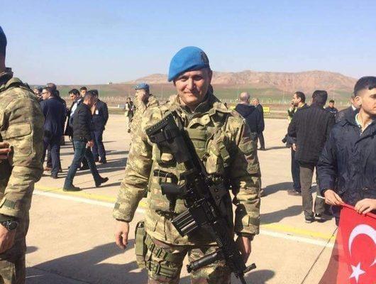 Son dakika! Zeytin Dalı Harekatı'ndan acı haber: Binbaşı Mithat Dunca şehit oldu