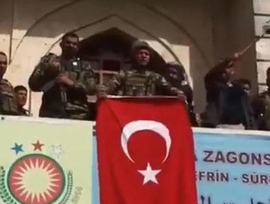 Afrin'de kontrol sağlandı! TSK'dan flaş Afrin açıklaması!