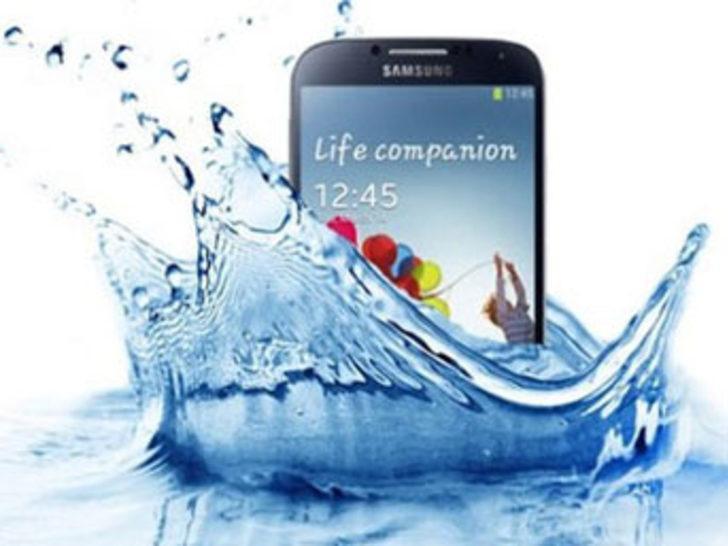 Su geçirmez Samsung Galaxy S4