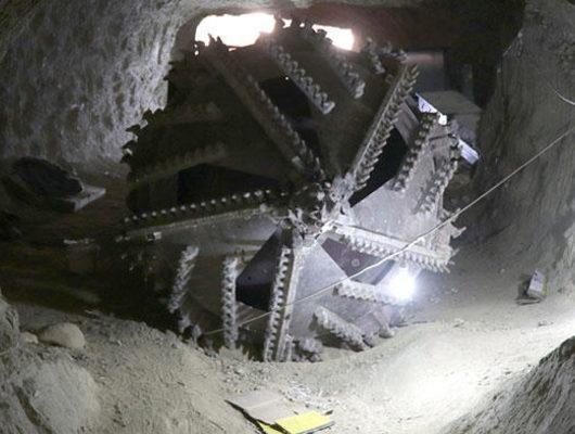 Afrin'den çarpıcı kareler! Tüneller ortaya çıktı