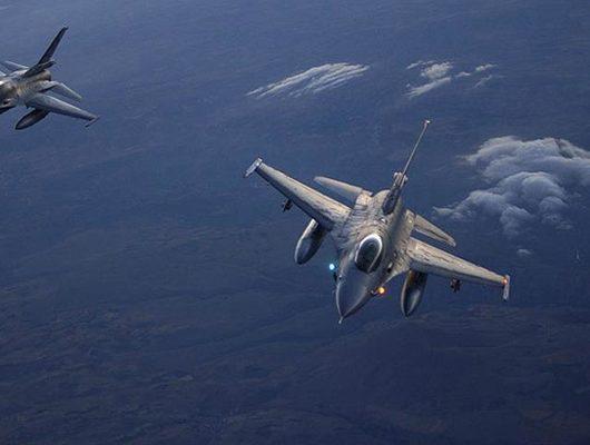 Jetler bomba yağdırdı: Çok sayıda terörist etkisiz hale getirildi