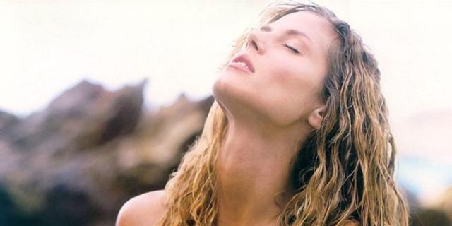Heidi Klum'dan çıplaklık deneyi...