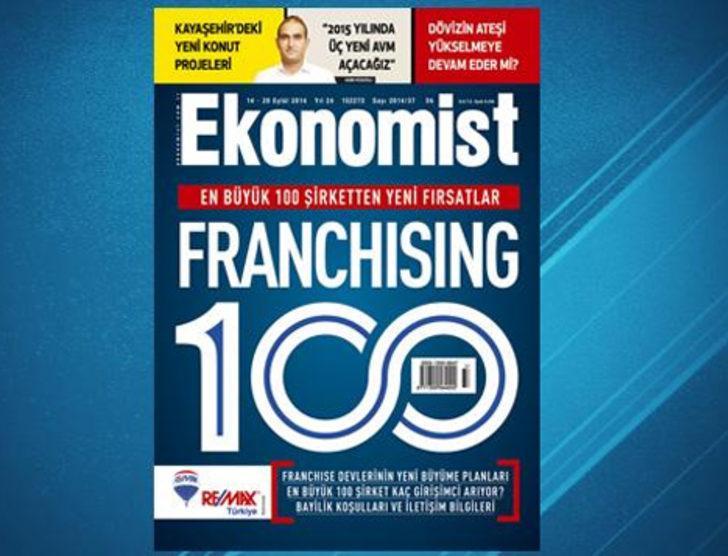 100 büyük şirketten 100 franchising fırsatı