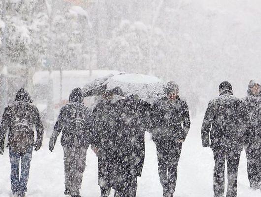 Kar yağışı için Meteoroloji gün verdi!