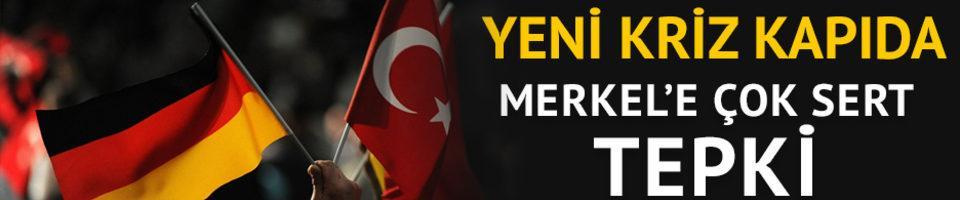 Türkiye'den Merkel'in Afrin açıklamasına sert tepki