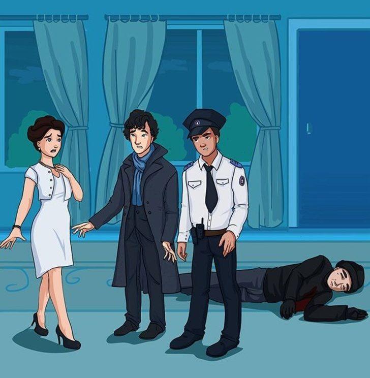 Dedektif karısının onu öldürmek istediğini nasıl anlamıştır?
