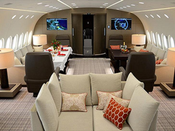 Bu uçan otelin 1 saatlik kirası 74.000 dolar!