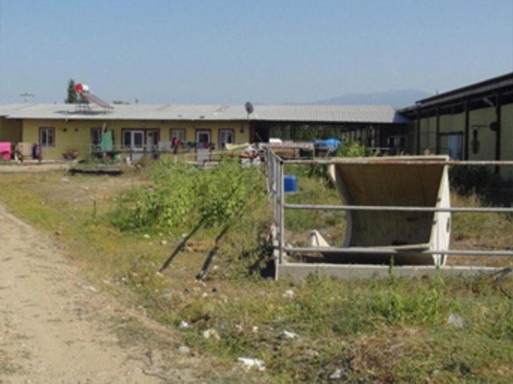 İflas eden milyonluk tesis, Suriyeli göçmenlerin barınma alanı oldu