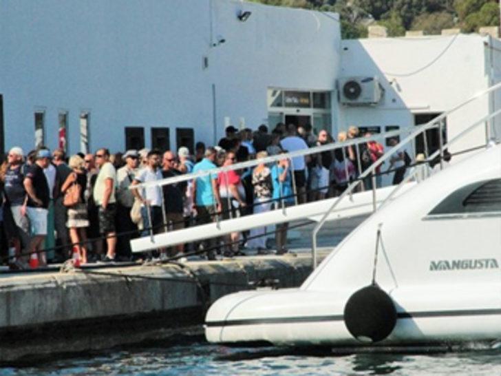 Yunan adalarına ticari yat seferleri yasaklandı