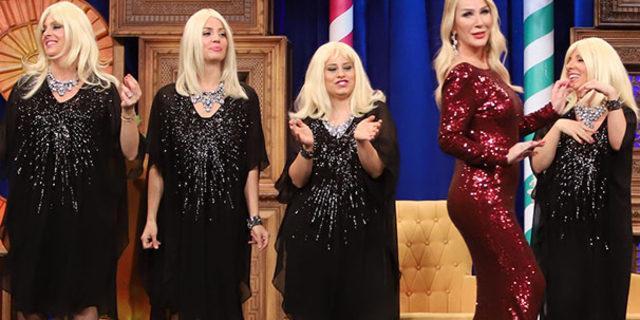 'Güldür Güldür Show'da Seda Sayan sürprizi