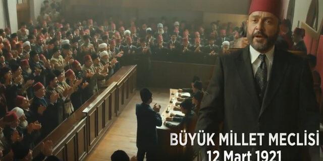 Vatanım Sensin'de tüyleri diken diken eden Mehmet Akif ve İstiklal Marşı sahnesi