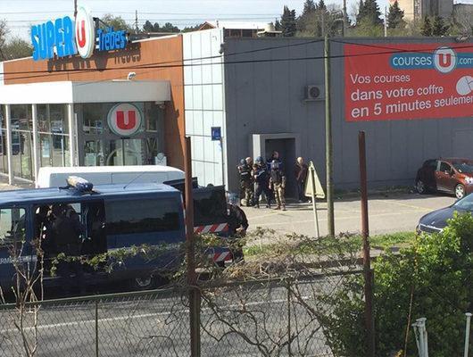 Fransa'da IŞİD saldırısı! Ölü ve yaralılar var