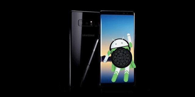 Galaxy Note 8 Android 8.0 Oreo güncellemesi Türk kullanıcılar için yayınlandı!