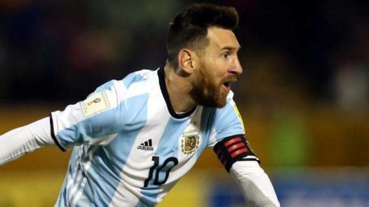 Messi, Real Madrid tesislerinde antrenmana çıktı