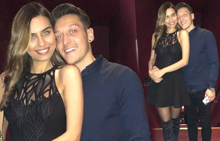 Amine Gülşe'den Mesut Özil'e özel video