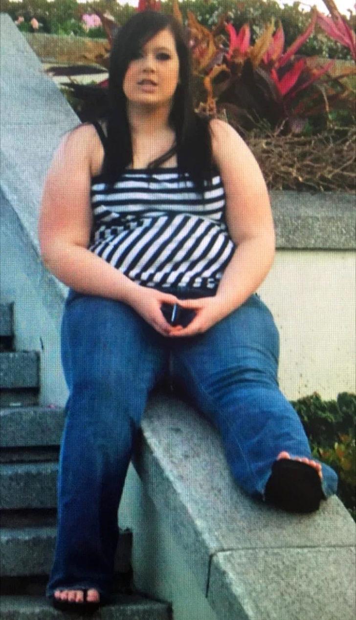 19 yaşındaki genç kız 57 kilo verdi hayatı değişti