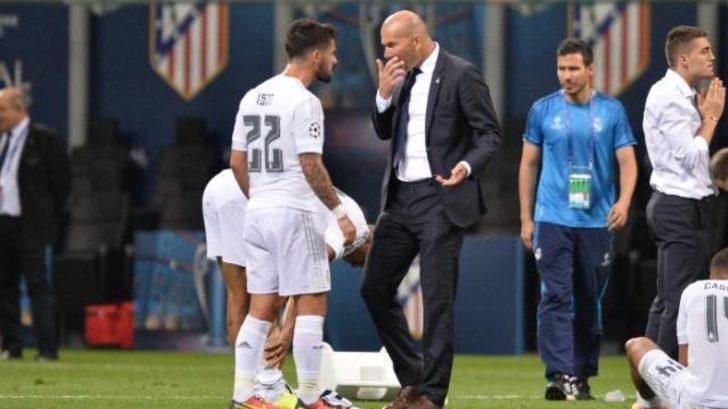 Zidane'dan Isco'ya yanıt: Haksızlık etmiyorum