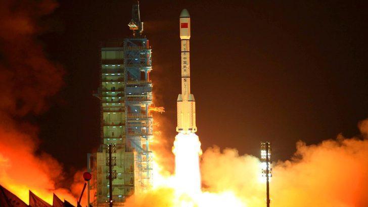 Fotoğraflarla: Çin'in kontrolünü kaybedip dünyaya düşen uzay aracı Tiangong-1