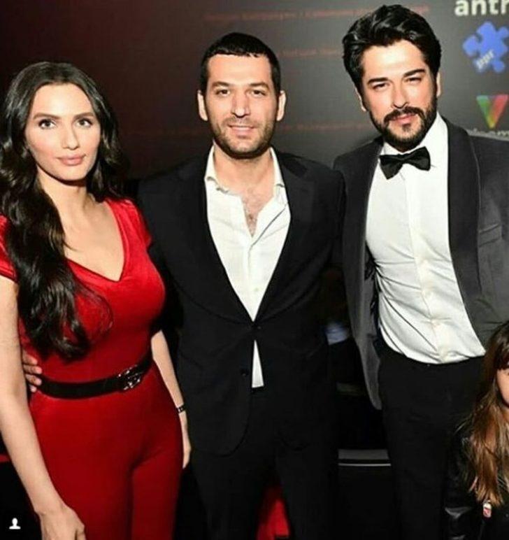 Galaya katılanlar arasında Murat Yıldırım ve eşi de vardı...