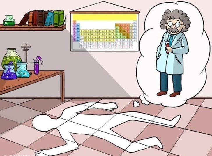 2. Kimyagerin gizemli ölümü