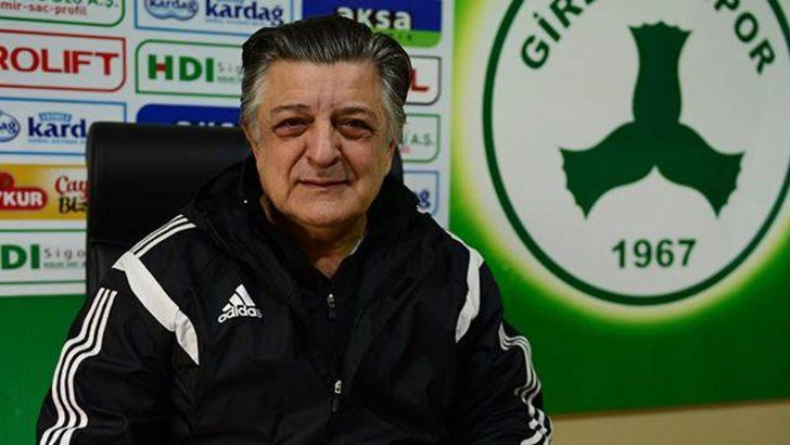 Akın Çorap Giresunspor Yılmaz Vural ile yollarını ayırdı