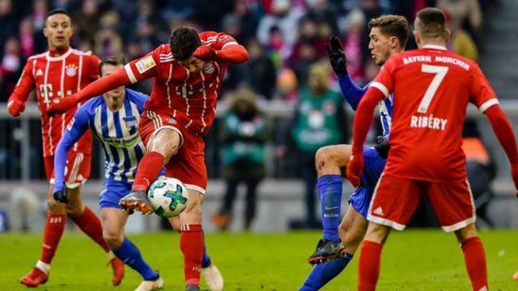 Bayern Münih 0 - 0 Hertha Berlin (Maç özeti)