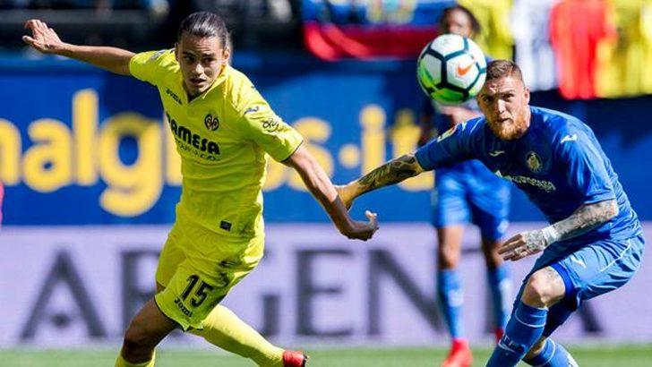 Enes Ünal Villarreal'e Getafe karşısında galibiyeti getirdi