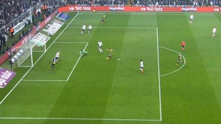 Beşiktaş - Fenerbahçe derbisinde ofsayt isyanı!