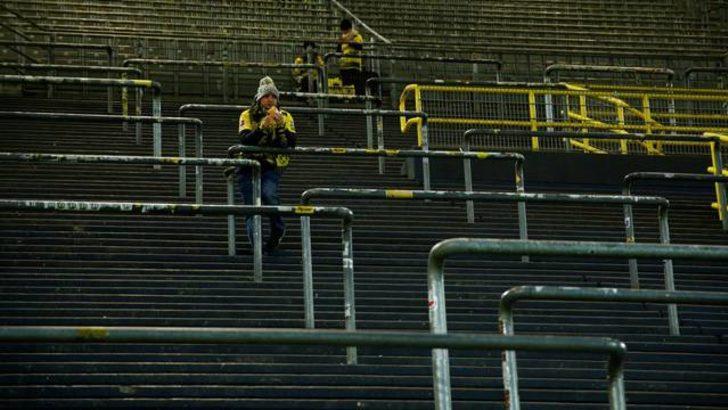 Dortmund taraftarı 'Sarı Duvar'ı boş bıraktı!